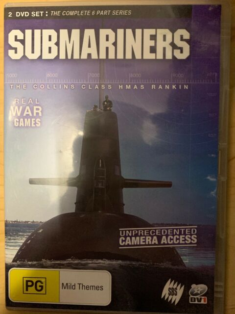 Submariners RARE DVD 6 PART DOCUMENTARY SERIES THE COLLINS CLASS HMAS RANKIN WAR
