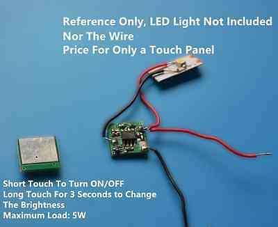 Linear Dimmer DIY Touch Panel Switch For LED Strip Light Bulb Lamp 5W watts