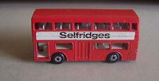 Matchbox SF17 Selfridges promo bus