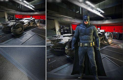 grandes ahorros Telón de fondo de Cochetel se envía enrollado  Batman Batman Batman Vs súperman  Baticueva para 1 6 FIGURAS HOT TOYS  100% a estrenar con calidad original.