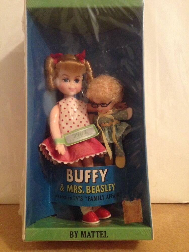 Vintage Mattel BUFFY & la Sra. Beasley Muñecas Sellada Caja nunca abierta o removido 1967