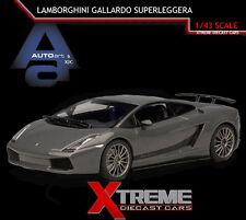 AUTOART 54613 1:43 LAMBORGHINI GALLARDO SUPERLEGGERA GREY SUPERCAR