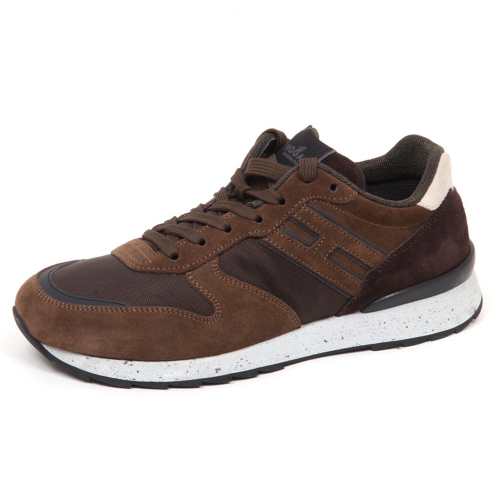 E0620 zapatilla de deporte hombres Marrón HOGAN R261 Zapato hombre