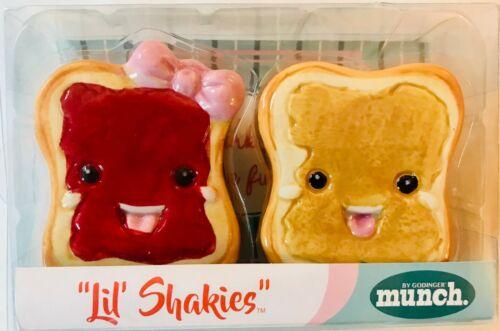 """Godinger Munch variable listing """"Lil Shakies"""" novelty salt /& pepper shakers"""