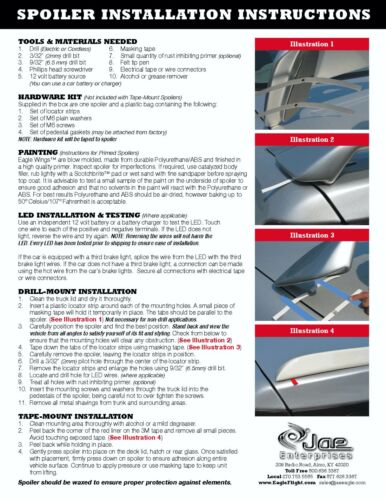 2004-2010 Toyota Sienna Painted Factory Style Rear Spoiler Wing Brand New