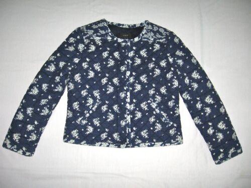 Quilted Nieuw jack label Detailhandel228 met J crew Belasting Cindigo Indigo Floral wn0kX8OP