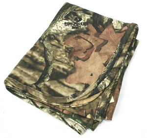 Mossy Oak Camo /& Blue Baby Blanket Infant Camouflage
