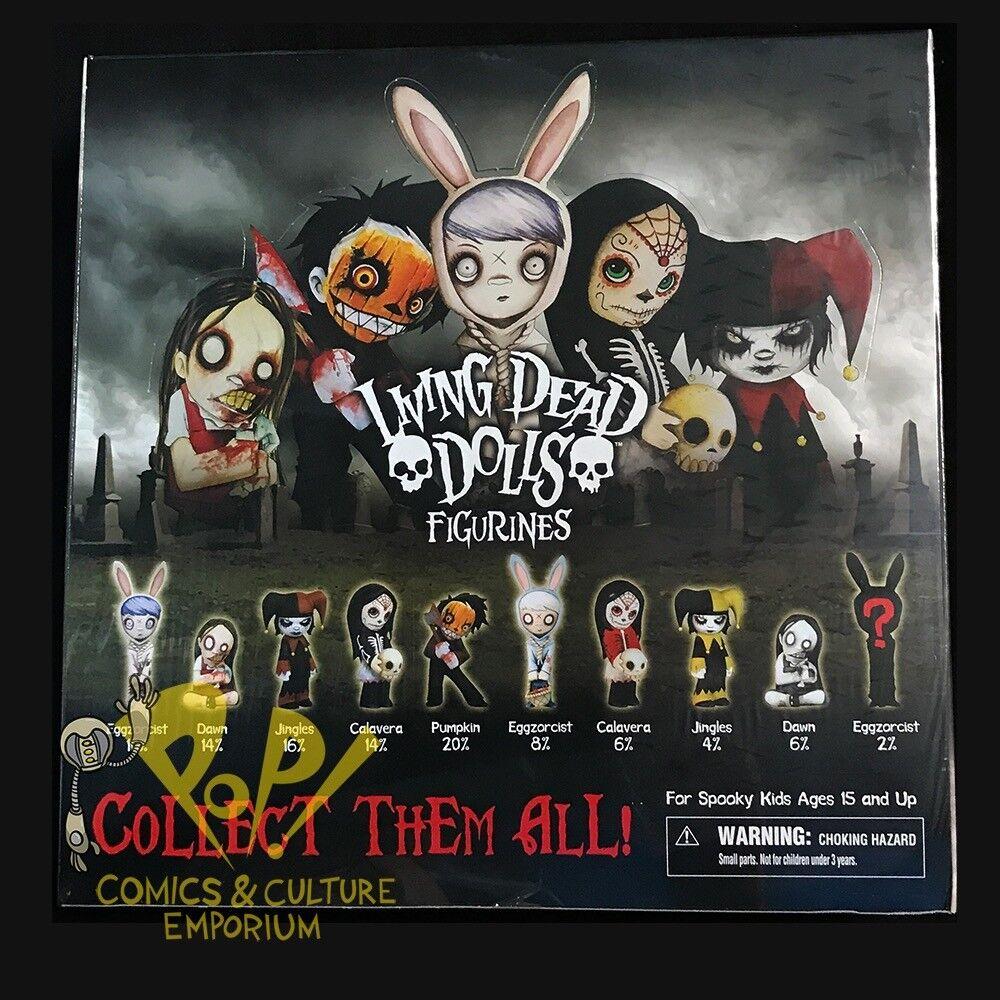 LDD Living  Dead bambolas MINI FIGURINES Series 1 SEALED 25-Piece CASE 2011 Mezco   profitto zero