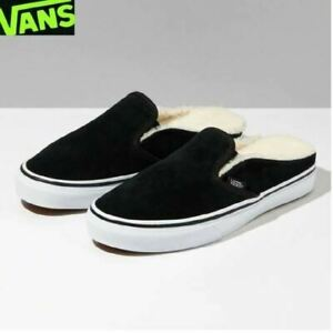 Details zu Vans Classic Slip On X Fleece Pack Suede Mule 2019 Fashion Shoes VN0A4P3UTC6