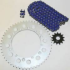Yamaha-YZ85-2002-2003-2004-2005-428-SHDR-Blue-Chain-Front-Rear-Sprocket-Kit