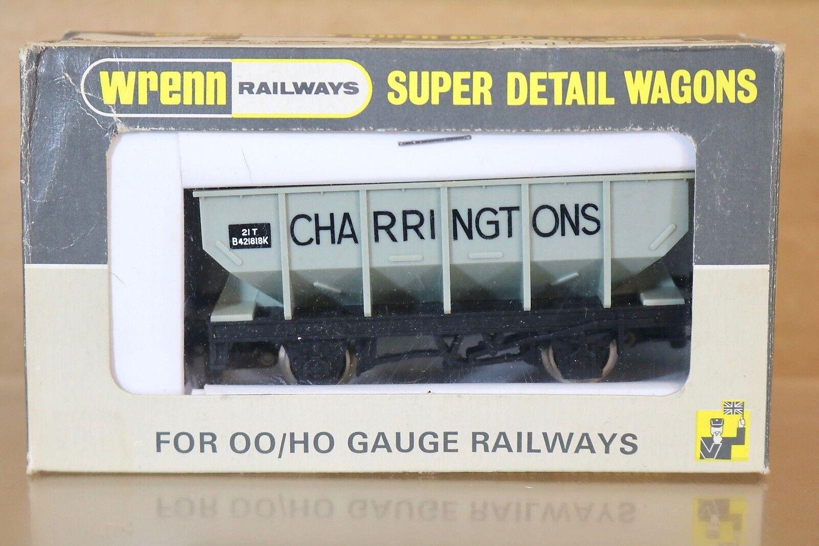 Wrenn W5068 Br grau Charringtons Tramoggia Vagone B421818K Mint Inscatolato Np