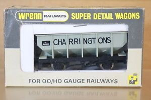 Wrenn W5068 Br Gris Charringtons Trémie Wagon B421818k Très Bon État En Boîte Np
