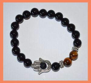 Obsidian-Tiger-Eye-Energy-Healing-Protection-Spiritual-Gemstone-Bracelet