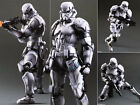 Play Arts Kai Star Wars Variant Imperial Storm Trooper Figure Figurine No Box
