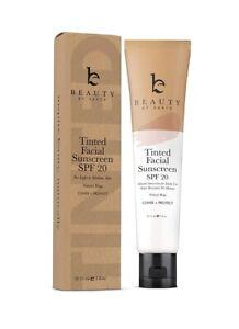 Sunscreen Face Beauty  Earth Naturall/Lite Beige Tinted Facial Sunscreen SPF20