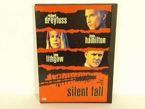 Silent-Fall-DVD-2000-Canadian-near-mint-Linda-Hamilton-Richard-Dreyfuss