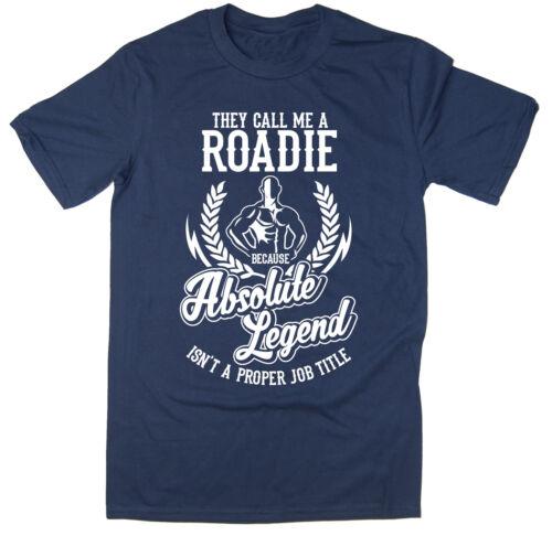 Divertente T-shirt disponibile in 6 colori. Roadie T-Shirt-ABSOLUTE legenda