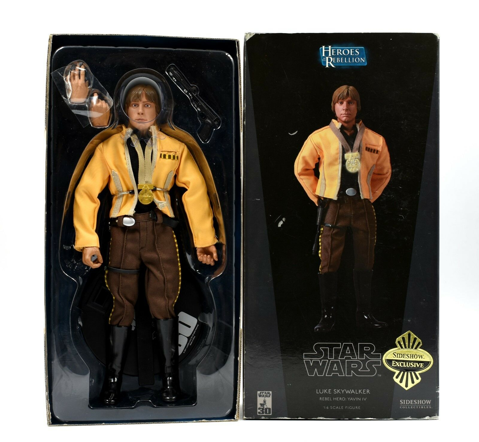 Sideshow Exclusive Star Wars Heroes of The Rebellion - 1:6 Scale Luke Skywalker