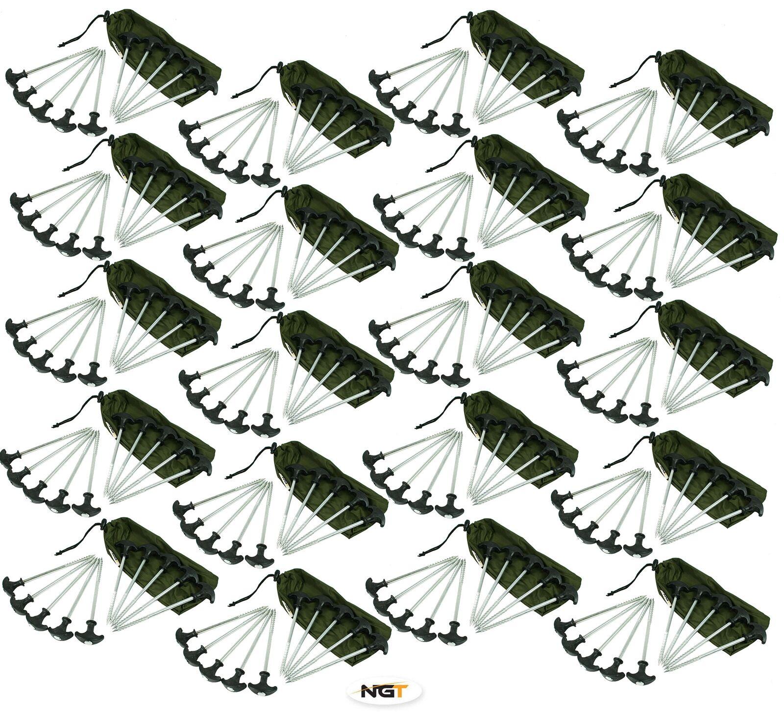 200 x HEAVY DUTY CARP FISHING BIVVY PEGS CAMPING TENT PEG WHOLESALE