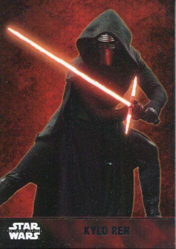 Star Wars Force Awakens Series 1 Complete 100 Card Base Set