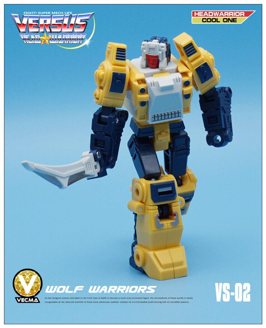 Pre-order Transformers Mech Fans Fans Fans Toys - Head Warrior - MFT VS-02 Weirdwolf 7ebfd7