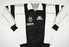1990-1991 JUVENTUS KAPPA FOOTBALL JACKET (SIZE M)