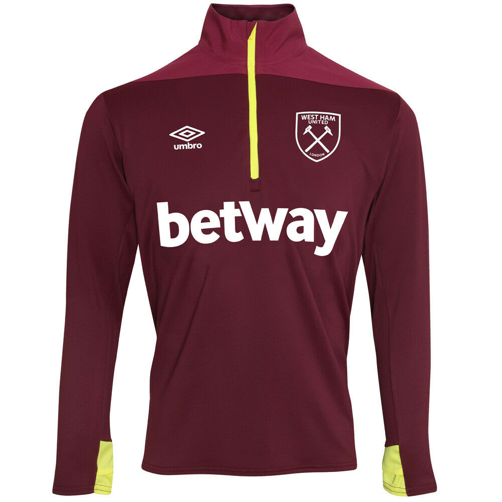 Umbro West Ham United Training Half-Zip Top