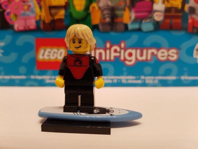 71018 LEGO® Minifiguren Serie 17 Nr. 1 Profi Surfer Neu & Unbespielt Profi-Surf