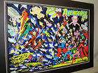 Marvel Comic Characters Avengers #2  Poster Comic Book Convention Exhibit