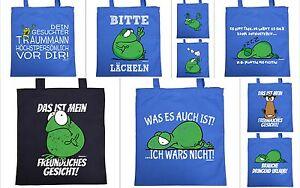 Sprüche Tasche   lustige Motiv Baumwolltasche   coole Sprüche