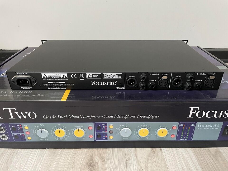Preamp, Focusrite ISA Two