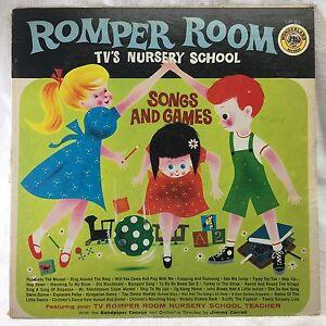 Image Is Loading Romper Room Tv 039 S Nursery School Songs