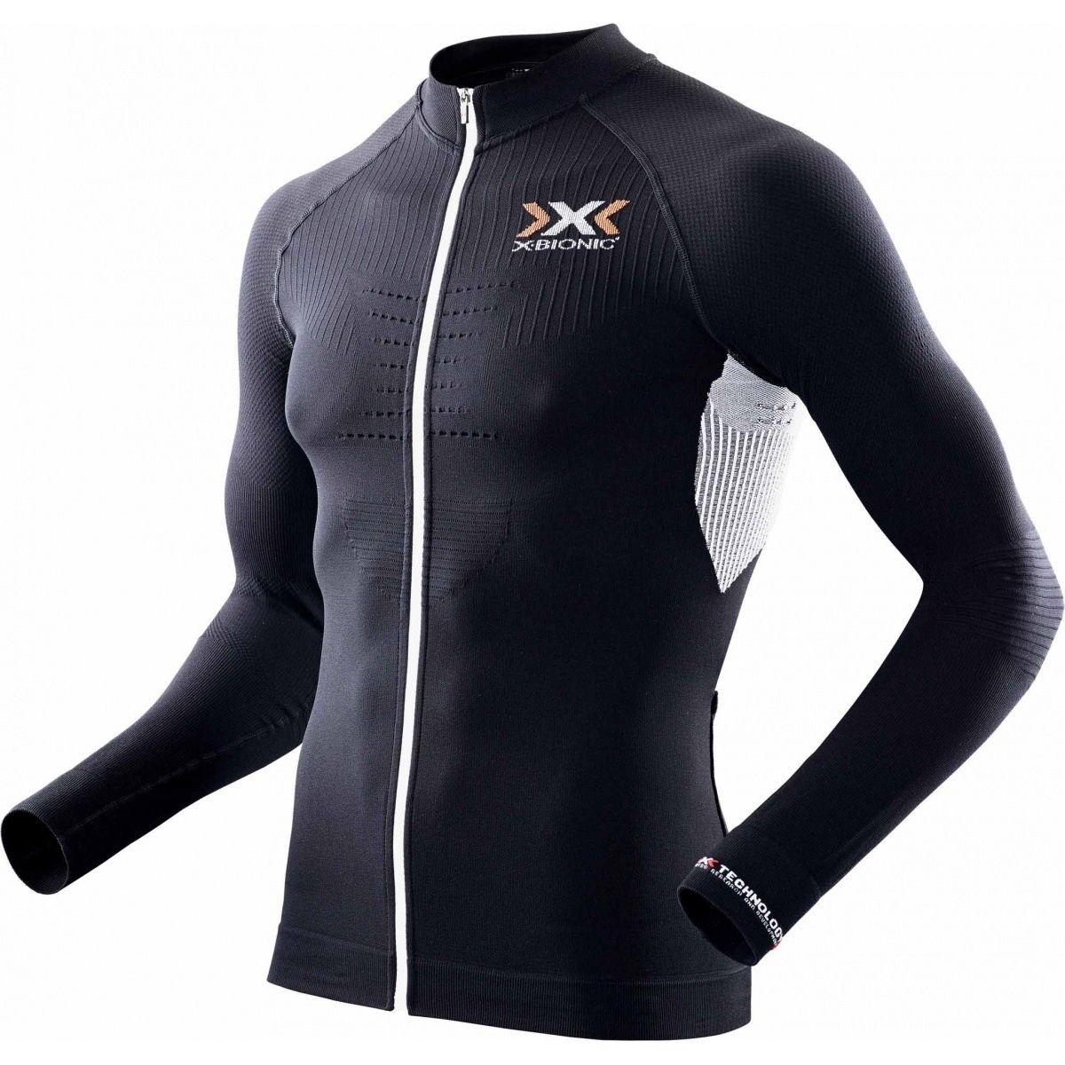 X-BIONIC the CICLISMO si the X-BIONIC trucco OW SHIRT CYCLING Manica Lunga Nero f83fad