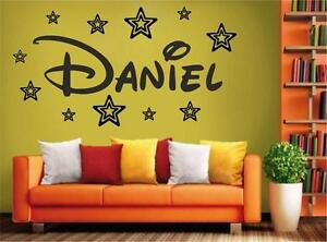v15-BIG-Personalized-GIRL-BOY-your-name-starswall-Sticker-6-sizes-many-colours