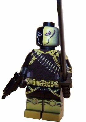 Custom Designed Minifigure Arkham Scarecrow FREE INTERNATIONAL POSTAGE