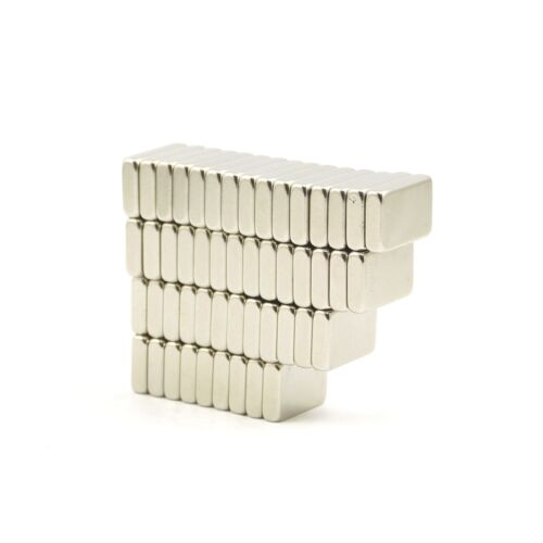 2 strong N35 Neodymium neo 14mm x 9mm x 3mm block magnets craft fridge DIY MRO