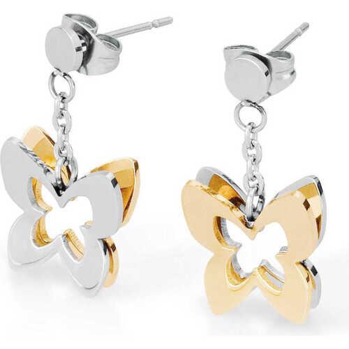 orecchini donna gioielli Sagapò Butterfly casual cod SBF21