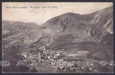CUNEO ACCEGLIO 07 VALLE MACRA - VALLE MAIRA Cartolina viaggiata 1926