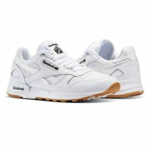 62437541eaf Reebok CLassic Leather 2.0 BS9004 Men s shoes White Black-Gum Fast ...