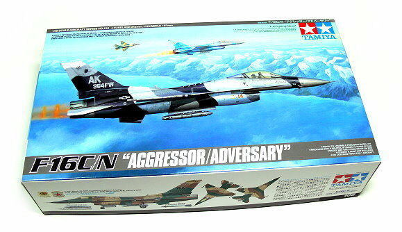 Tamiya Aircraft Model 1 48 Airplane F-16C N AGGRESSOR ADVERSARY Hobby 61106