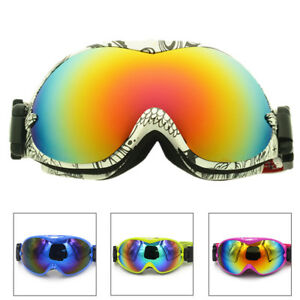 b94c5427a80d Image is loading Kids-Boys-Girls-Ski-Snowboard-Snow-Goggles-with-