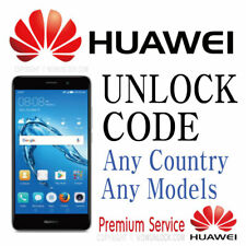 Huawei Unlock Code Almost All Models Supported Worldwide for