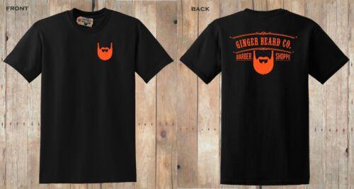 S to 5XL BLACK ORANGE NEW OFFICIAL /'GINGER BEARD COMPANY/' MEN/'S T-SHIRT
