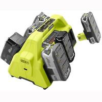 Ryobi Battery 6-port Super Charger One+ 18v Usb Port Lithium Ion Charging Power