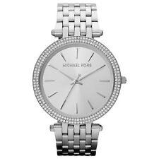 Michael Kors MK3190 Silver Tone Darci Glitz Ladies Women's MK Watch RRP £195