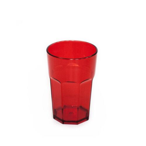 Omada Design Bicchiere bibita da 42,5 cl in plastica infrangibile ed impilabile