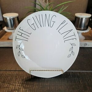 RAE-DUNN-New-2020-Fall-Thanksgiving-034-THE-GIVING-PLATE-034-Plate