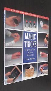 Learn The Magicians Secrets Magic Tricks Ian Adair Demuestra 1995 Buen Estado