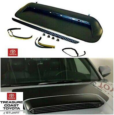 2003-2009 4Runner Hood Scoop KIT Bulge Genuine Toyota 76181-35050-B1 DARK GRAY