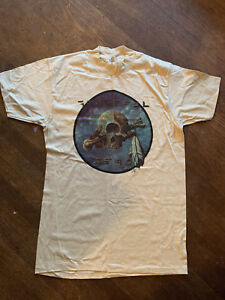 Vintage-Grateful-Dead-T-shirt-Arista-Records-Promo-Rare-Unworn-1977-Kelley-Mouse